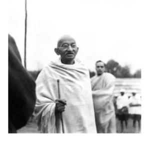 Mahatma Gandhi at Ramgarh